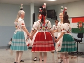 Dayton Hungarian Dancers in Wine Dance